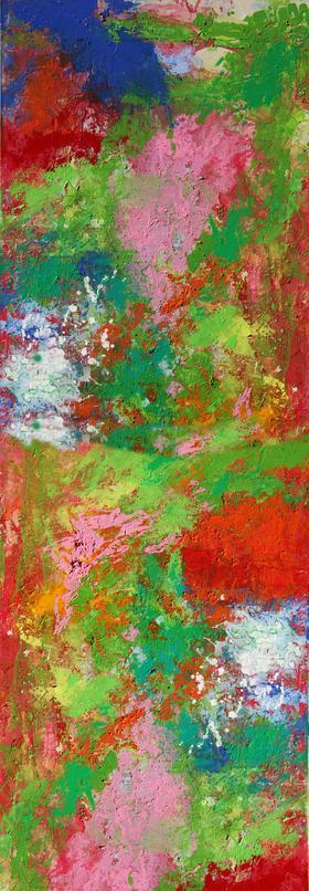 限量版画《香格里拉》雪凌 130×70cm