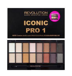 【必买】英国Make up  revolution  16色眼影盘  新型高光  修容盘