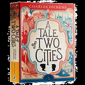 双城记 英文原版小说 A Tale of Two Cities 英文版 狄更斯 Charles Dickens Puffin Classics 进口原版英语书籍