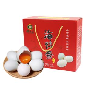 【产地直发】许三娘鲜海鸭蛋30枚礼盒装2kg