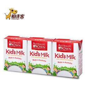 澳牧牛奶儿童成长牛奶200ml*3