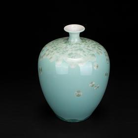 结晶釉五绝·枣子瓶
