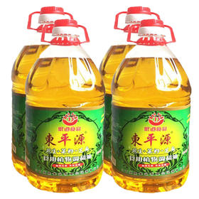 瑞金市东平源 花生菜籽芝麻油5L*4桶