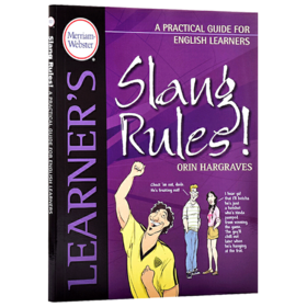 俚语规则 英语学习者使用指南 英文原版 Slang Rules A Practical Guide for English Learners 奥林哈格瑞夫英文版进口原版工具书