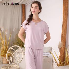 夏季女士针织莫代尔棉套装家居服 14130231