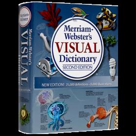 韦氏英语图解词典 英文原版学习工具书 Merriam Webster's Visual Dictionary 图片词典 第2版升级版 英文版进口原版书籍