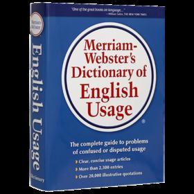 韦氏英语用法指南 英文原版 Merriam-Webster's Dictionary of English Usage 英英词典 英文版考试工具书 精装 正版进口原版书籍