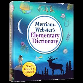韦氏初级儿童基础词典 英文原版字典 Merriam-Webster's Elementary Dictionary 英文版 进口原版英语学习工具书