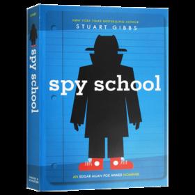 间谍学校1 英文原版 Spy School 儿童英语课外阅读章节书 英文版侦探小说 进口原版书籍 Stuart Gibbs