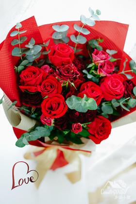 520玫瑰花束
