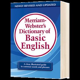 韦氏基础词典 英文原版 Merriam-Webster's Dictionary of Basic English 麦林韦氏英语工具书 正版进口原版书籍 英文版