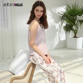 夏季性感针织棉女士套装家居服;14130242