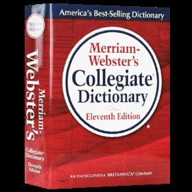 韦氏大学英语词典 英文原版 Merriam-Webster's Collegiate Dictionary 韦氏字典辞典英语学习工具书 英文版 正版进口原版书籍