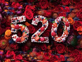 【七夕表白·限时秒杀】520情人节数字蛋糕