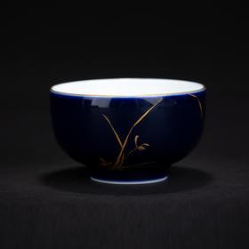 雅市·祭蓝梅兰竹菊杯(兰)