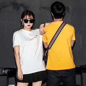 卡帝乐鳄鱼 情侣纯色T恤