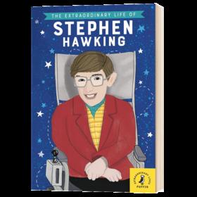 斯蒂芬霍金 英文原版人物传记 The Extraordinary Life of Stephen Hawking 英文版名人传记 进口青少年英语课外阅读书籍 全彩插图