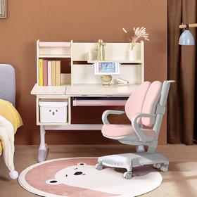 【明明讲故事】爱果乐儿童学习桌椅套装可升降课桌椅 适用3-18岁