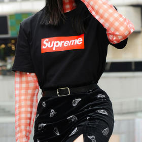 Supreme经典纯棉T恤(意大利正版授权)