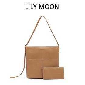 通勤百搭托特包 LILY MOON小号升级版双肩带设计托特包