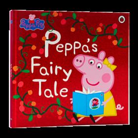 小猪佩奇的童话 英文原版 Peppa Pig Peppa's Fairy Tale 粉红猪小妹 儿童英语启蒙图画故事书 英文版 亲子共读绘本 进口原版书籍