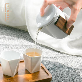 【可定制】质造 | 琢磨壶茶具