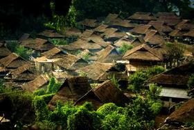 探寻瓦山千年文化,行走最原始部落村寨,拜访大叶普洱茶山