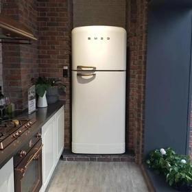 意大利SMEG FAB50 复古50年代双门冰箱 影视大片随处可见的高颜值冰箱