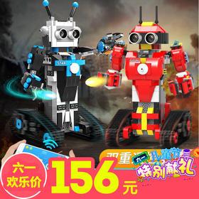 六一儿童节丨艾玛编程机器人机甲战士