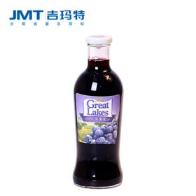 吉玛特丨大湖100%紫葡萄汁600ml/瓶【同城配送】