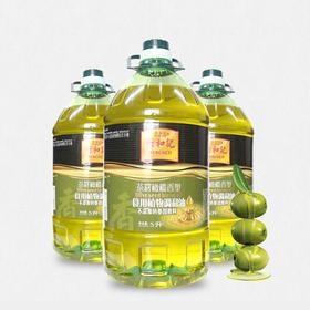 茶籽橄榄食用调和油5L/瓶|食用植物调和油 不添加转基因原料【粮油特产】