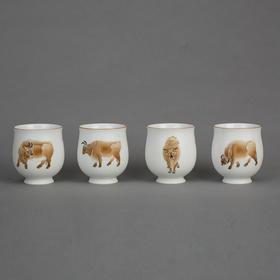 五牛图茶器