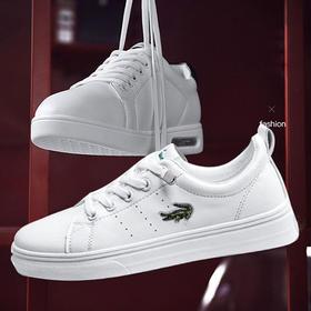 卡帝乐鳄鱼女款 小白鞋