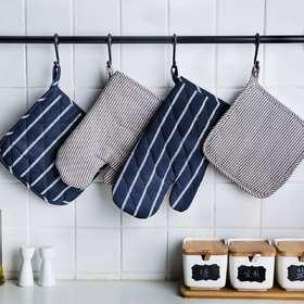 摩登主妇加厚隔热烤箱专用防烫手套烘焙微波炉家用耐高温厨房手套