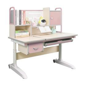1.2米90CM儿童写字桌椅套装小学生实木学习桌书桌书柜组合(桌子+椅子)