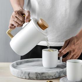 天一书局 创意手柄陶瓷茶具套装