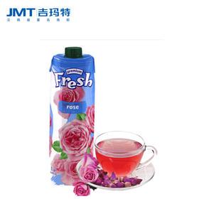 吉玛特丨鲜芬玫瑰汁饮料1l/盒【同城配送】