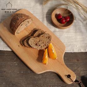 摩登主妇水果砧板刀板实木家用面包板蛋糕烘焙板切水果小面板案板