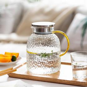 摩登主妇冷水壶耐高温玻璃凉水瓶家用凉水壶水杯泡茶壶凉茶壶套装