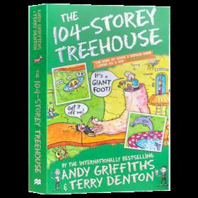 小屁孩树屋历险记 英文原版小说 The 104-Storey Treehouse 104层树屋故事 进口原版儿童英语章节书 小学生课外阅读书籍 英文版
