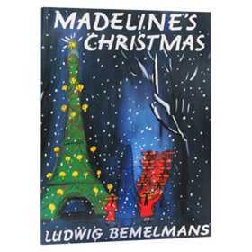 玛德琳的圣诞节 英文原版绘本 Madeline's Christmas 凯迪克金银双奖韵文与歌谣 英文版儿童英语读物童话图画书 正版进口原版书籍