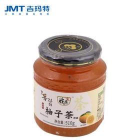 吉玛特丨花圣蜂蜜柚子茶510g/瓶【同城配送】