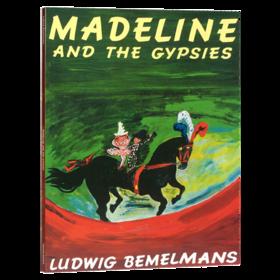 玛德琳和吉普赛人 英文原版绘本 Madeline and the Gypsies 廖彩杏吴敏兰书单 儿童英语启蒙图画故事书 英文版 进口原版书籍