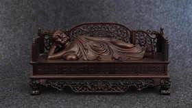 【邮费到付】桐柏山木雕博物馆 纯手工黑檀工艺作品集