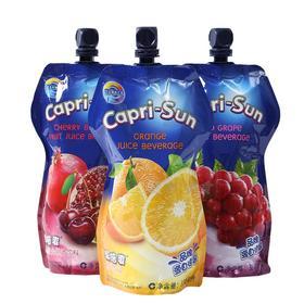 德国果倍爽橙汁饮料330ml   儿童大袋果汁浓缩维生素饮料