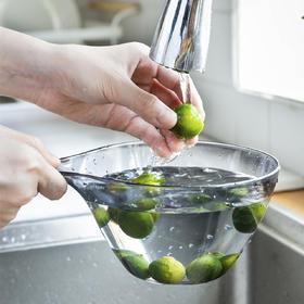 摩登主妇长柄水瓢多用途加厚大号厨房家用塑料水勺创意加深水舀子