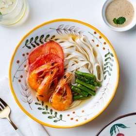 摩登主妇日式卡通汤碗面碗大号家用大碗拉面碗泡面碗沙拉碗饭碗