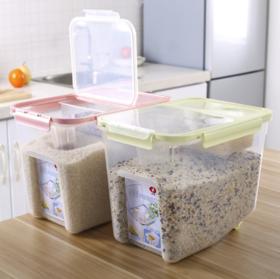 【厨房配件】厨房密封米桶家用塑料防潮收纳20斤装米缸大米面粉防虫储米箱10kg