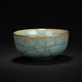 七贤茶器哥窑杯
