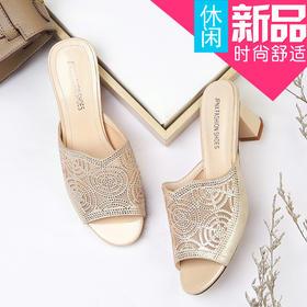 MLKL9587新款韩版百搭女士凉拖鞋TZF